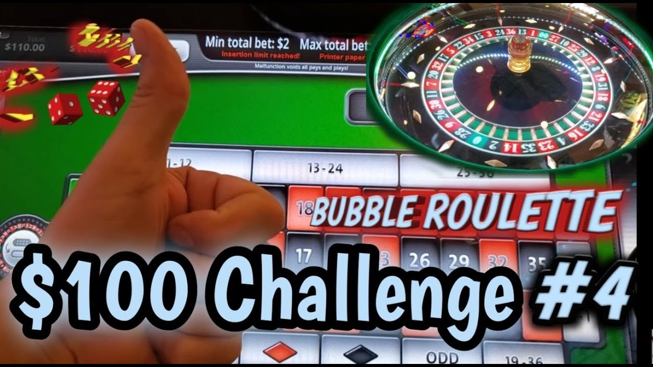 ROULETTE - $100 Challenge #4 - Century Casino - Come hang out and have some fun with us!