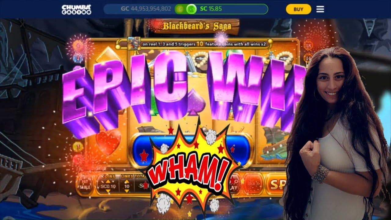 EPIC Comeback on Blackbeard's Saga | Chumba Casino | Real Money