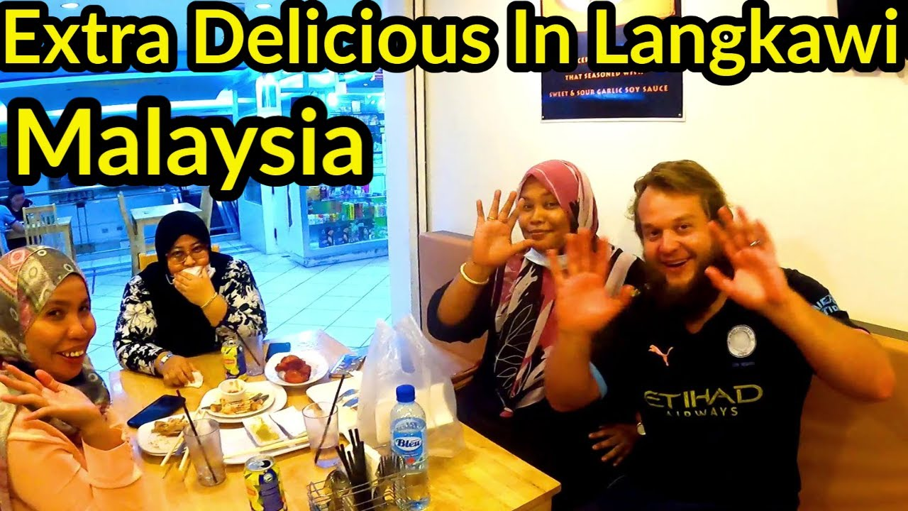 🇲🇾 EXTRA CRISPY CLAYPOT SIZZLE | FULL DAY EATING IN KUAH TOWN LANGKAWI, MALAYSIA