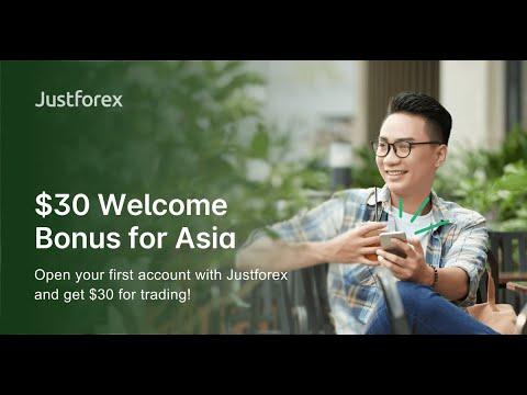 How To Get $30 No Deposit Bonus for Asia #JustForex 🔥🔥