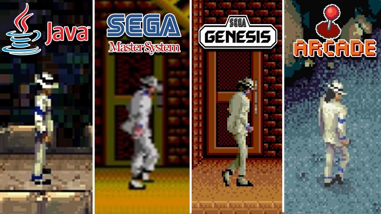Michael Jackson's Moonwalker (1990) Java vs MasterSystem vs Genesis vs Arcade (Which One is Better?)
