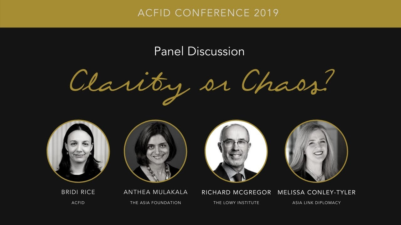 """""""Clarity or chaos? Development cooperation in a time of contestation."""" – ACFID Conference 2019"""